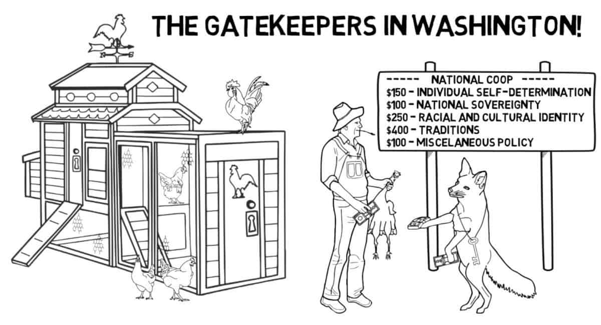 Gatekeepers in Babylon DC are the Sham Order
